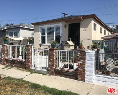 Los Angeles Single Family Home For Sale: 8781 Cattaraugus Avenue