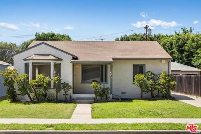 Culver City Single Family Home For Sale: 4349 Tuller Avenue