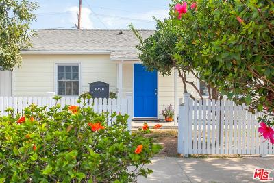Culver City Single Family Home For Sale: 4730 Sawtelle