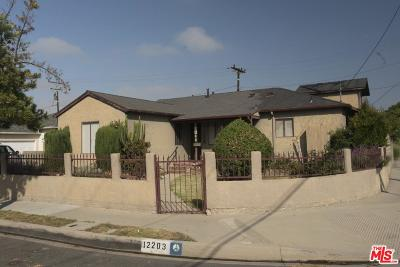 Culver City Single Family Home For Sale: 12203 Herbert Street