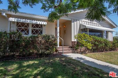 Los Angeles Single Family Home Active Under Contract: 3498 Cabrillo