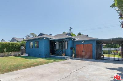Culver City Single Family Home For Sale: 11906 Bray Street