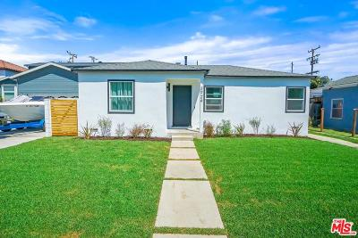 Culver City Single Family Home For Sale: 3924 Tuller Avenue