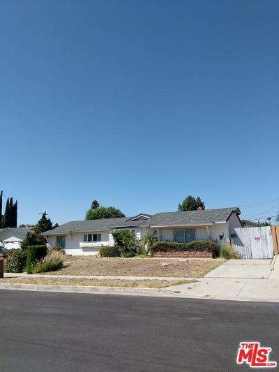 Northridge Single Family Home For Sale: 17169 Stare Street