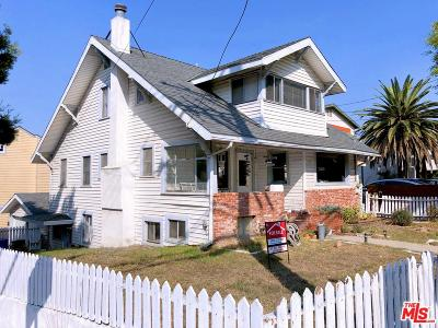 Santa Monica Single Family Home For Sale: 703 Ashland Avenue