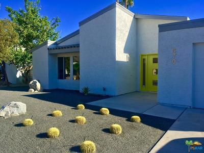 Palm Springs Single Family Home For Sale: 870 Arroyo Vista Drive