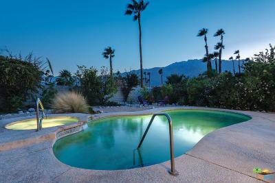 Palm Springs Single Family Home For Sale: 1361 East Francis Drive