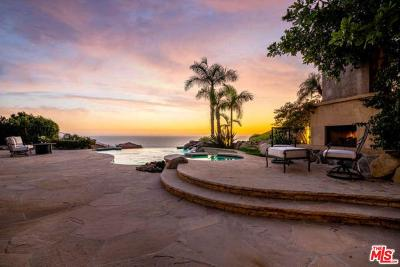 Malibu CA Single Family Home For Sale: $6,095,000