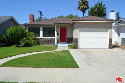 Culver City Single Family Home For Sale: 12311 Lucile Street