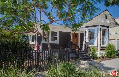 Santa Monica Single Family Home For Sale: 203 Mills Street