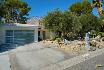 Palm Springs Single Family Home For Sale: 247 North Easmor Circle