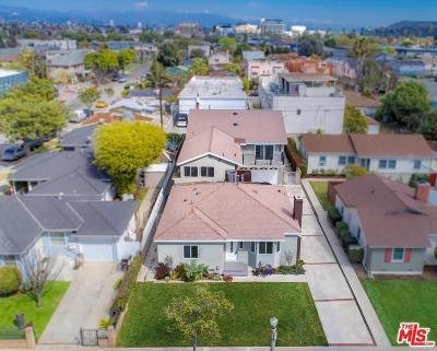 Culver City Single Family Home For Sale: 3912 Tilden Avenue