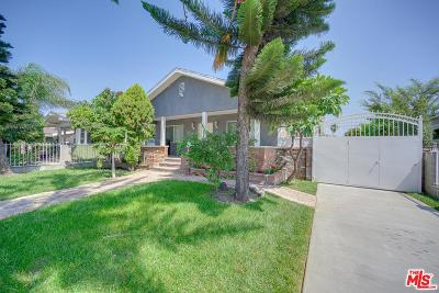 Los Angeles Single Family Home For Sale: 3882 2nd Avenue