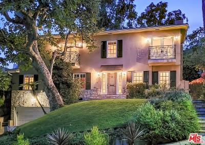 Los Angeles CA Single Family Home For Sale: $2,250,000