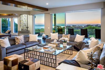Malibu CA Single Family Home For Sale: $7,995,000