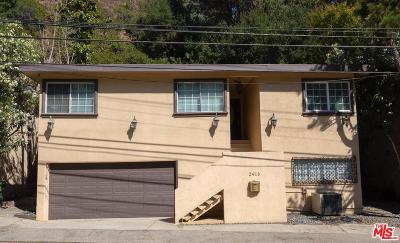 Beverly Hills Rental For Rent: 2410 North Benedict Canyon Drive
