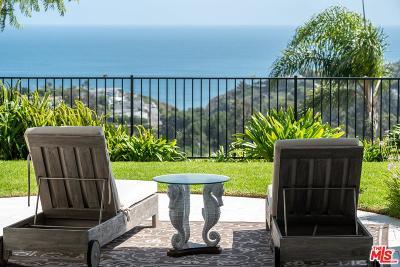 Malibu CA Single Family Home For Sale: $5,295,000