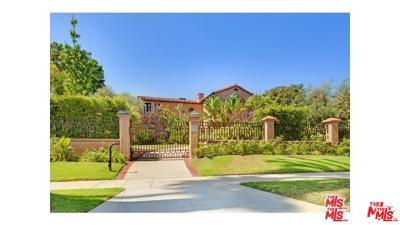 Beverly Hills Rental For Rent: 725 Foothill Road