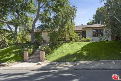 Studio City Single Family Home For Sale: 4030 Ethel Avenue