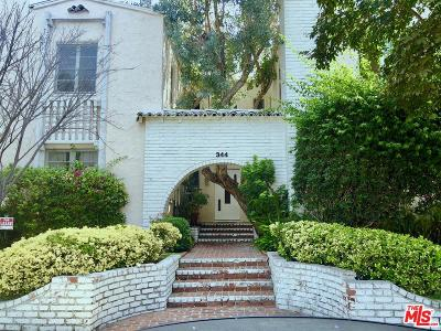 Beverly Hills Rental For Rent: 344 South Spalding Drive #2