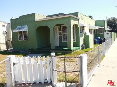 Los Angeles Single Family Home For Sale: 402 East 93rd Street