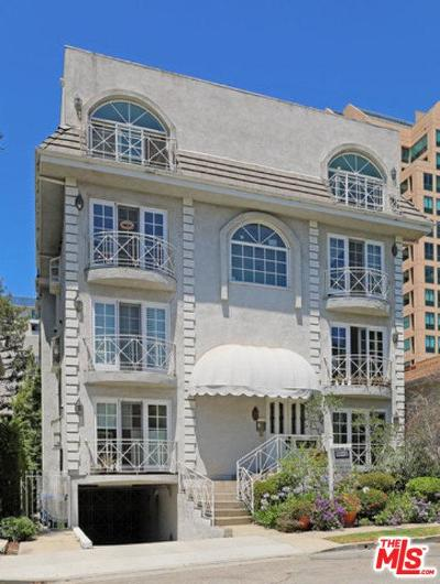 Los Angeles Condo/Townhouse For Sale: 10531 Ashton Avenue #PH