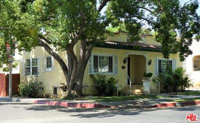 West Hollywood Single Family Home For Sale: 1211 North Vista Street