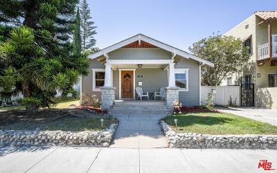 Long Beach Single Family Home For Sale: 835 Newport Avenue