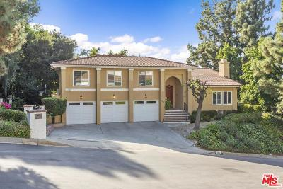 Encino Single Family Home For Sale: 3432 Clairton Place
