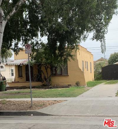 Los Angeles Single Family Home For Sale: 620 West 105th Street