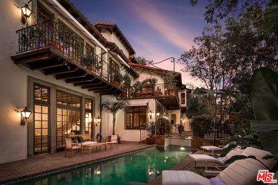 Los Angeles Single Family Home For Sale: 2729 Nichols Canyon Road