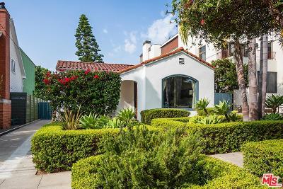 Santa Monica Single Family Home For Sale: 2626 Highland Avenue