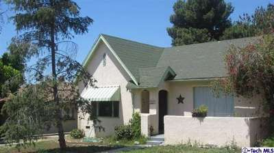 Burbank CA Single Family Home Sold: $595,000