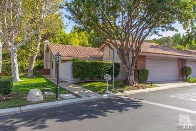 Condo/Townhouse Sold: 656 Arroyo Oaks Drive