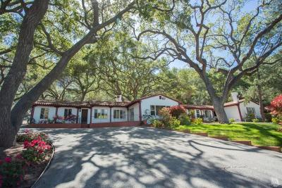 Thousand Oaks Single Family Home For Sale: 1688 Hidden Valley Road