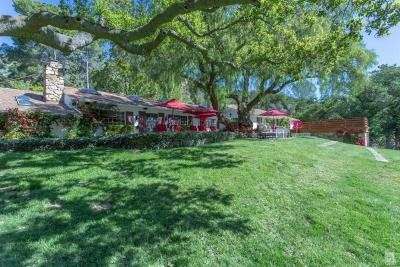 Thousand Oaks Single Family Home For Sale: 1753 Hidden Valley Road