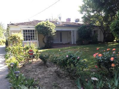 Studio City Single Family Home Sold: 11568 Chiquita Street