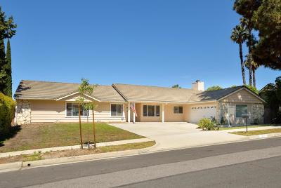 Thousand Oaks Single Family Home For Sale: 877 Falmouth Street