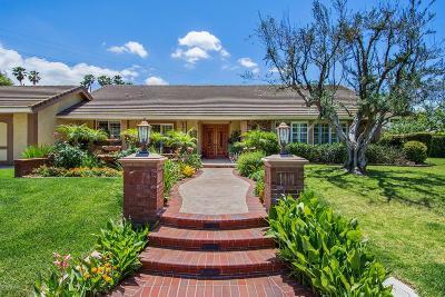 Thousand Oaks Single Family Home For Sale: 1466 Equestrian Avenue