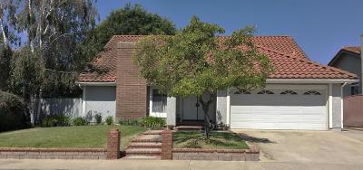 Moorpark Single Family Home For Sale: 4723 Talmadge Road