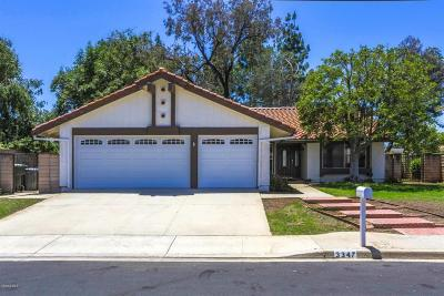 Thousand Oaks CA Single Family Home Sold: $650,000