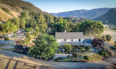 Agoura Hills Single Family Home For Sale: 3300 Cornell Road