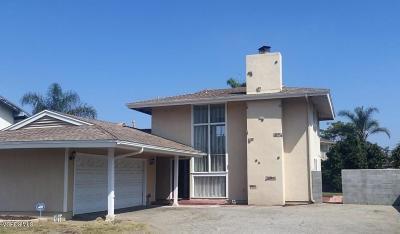 Ventura Single Family Home For Sale: 2226 Ramelli Avenue