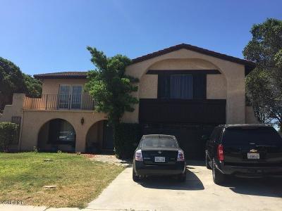 Camarillo Single Family Home For Sale: 3268 El Nido Street