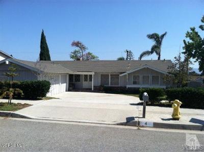 Camarillo Single Family Home For Sale: 4 Norma Court