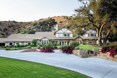 Thousand Oaks Single Family Home For Sale: 1515 Hidden Valley