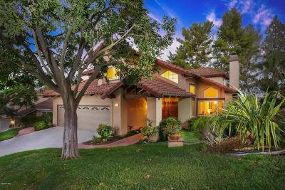 Thousand Oaks CA Single Family Home Sold: $972,500