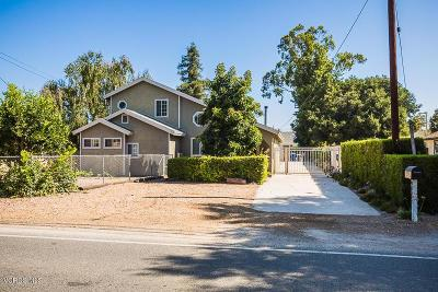 Moorpark Single Family Home For Sale: 4278 Hitch Boulevard