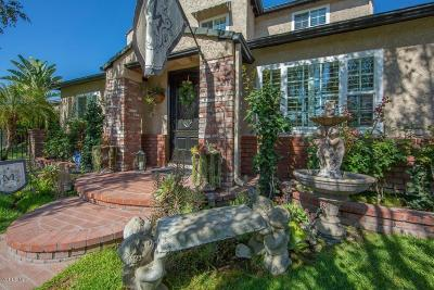 Burbank Single Family Home For Sale: 1121 North Griffith Park Drive