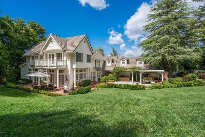 Westlake Village Single Family Home For Sale: 31918 Foxfield Drive